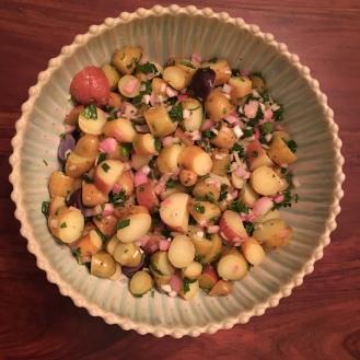 Lemon Herb Fingerling Salad