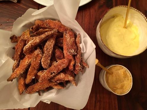 Fried Okra with Aioli