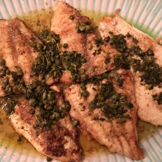 Meunière with Capers