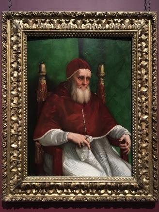 Raphael's Portrait of Pope Julius II