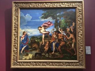 Titian's Bacchus