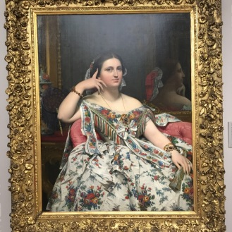 Ingres portrait of a Lady