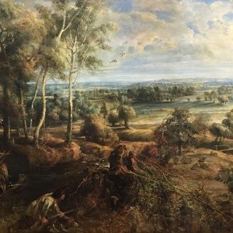 Landscape by Peter Paul Rubens