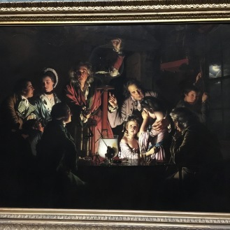 Joseph Wright of Derby - An Experiment with a Bird and an Air Pump