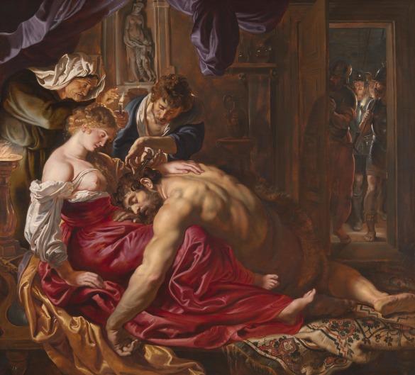 Rubens - Samson and Delilah