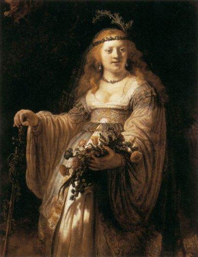 Rembrandt - Portrait of Saskia