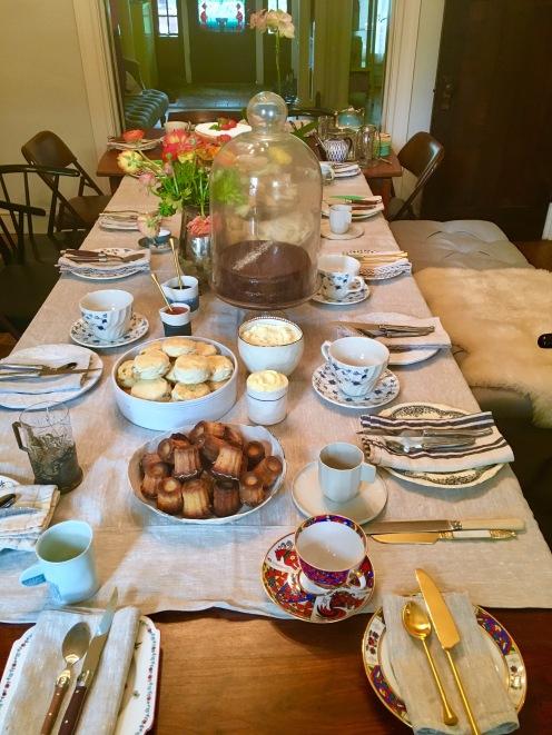 Chez Nous Dinners, Daria Souvorova, High Tea