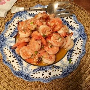 Chez Nous Dinners, Daria Souvorova, Chili Shrimp