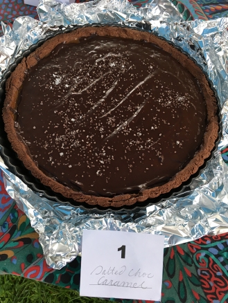 Chez Nous Dinners, Daria Souvorova, Pie Contest, Memorial Day Cookout, Salted Chocolate Caramel Tart