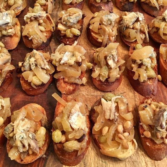 Chez Nous Dinners, Daria Souvorova, Memorial Day Cookout, Sardele in Saor