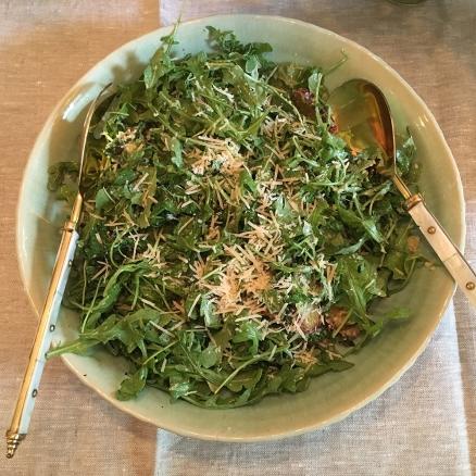Chez Nous Dinners, Daria Souvorova, Memorial Day Cookout, Caesar Salad