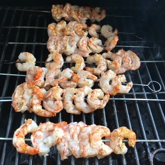 Chez Nous Dinners, Daria Souvorova, Memorial Day Cookout, Grilled Shrimp