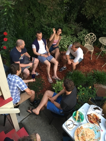 Chez Nous Dinners, Daria Souvorova, Memorial Day Cookout
