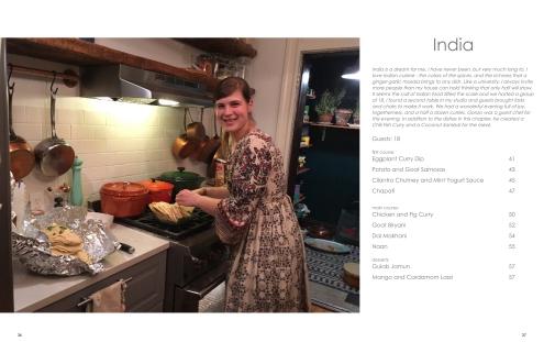 Chez Nous Dinners, Daria Souvorova, Cookbook