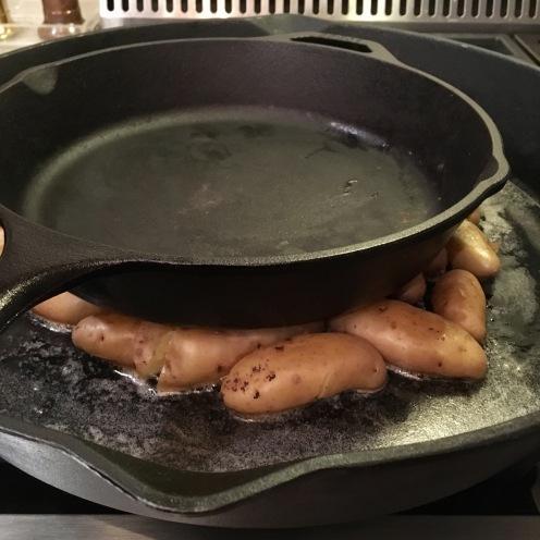 Chez Nous Dinners, Daria Souvorova, Seared Scallops with Fingerling Potato
